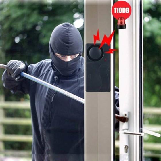 ALARMA por VIBRACIÓN para puertas y ventanas MovilTecno 811