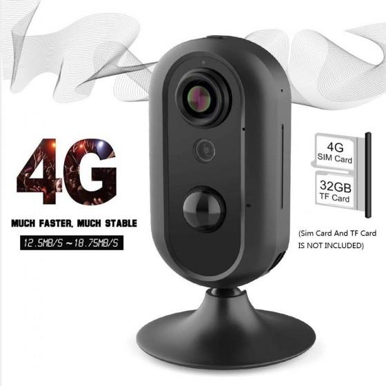Cámara de VIGILANCIA 4G con Gsm móvil y WIFI MovilTecno 812