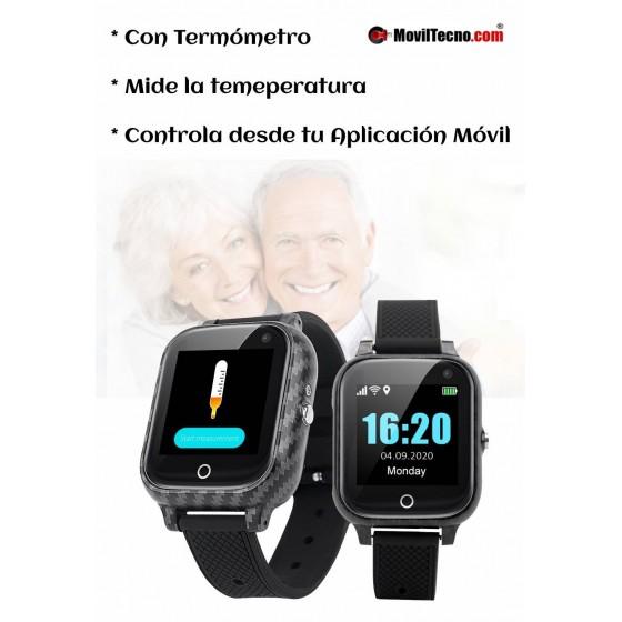 Reloj con TERMÓMETRO  y Localizador GPS MovilTecno 818