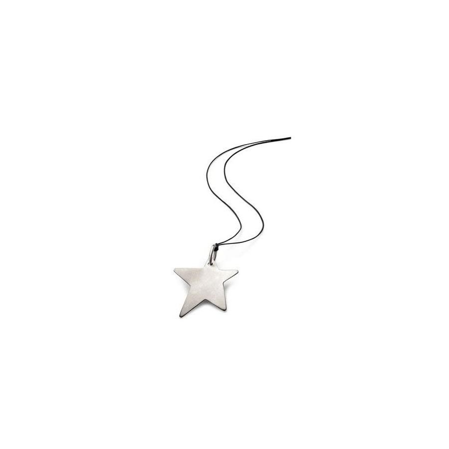Colgante de Acero Breil Original Estrella Barato