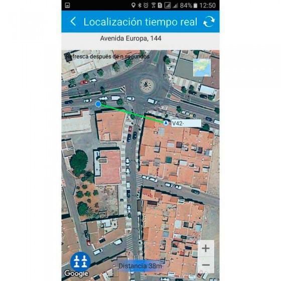 Colgante GPS MINI localizador SOS llavero MovilTecno 823