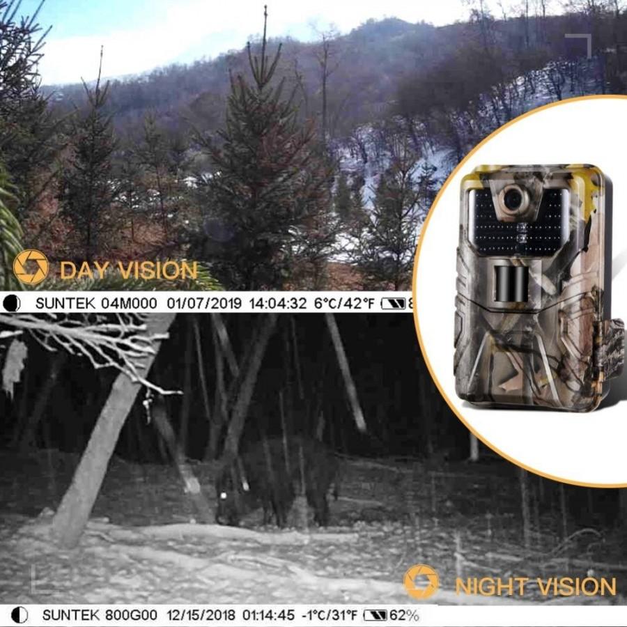 CÁMARA de vigilancia con BATERÍA a pilas MovilTecno 824