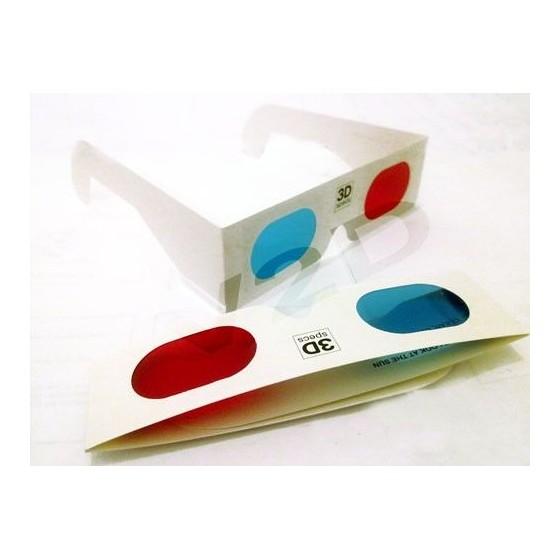 Gafas 3D Azul y Rojo ver Peliculas y Juegos en 3 dimensiones baratas