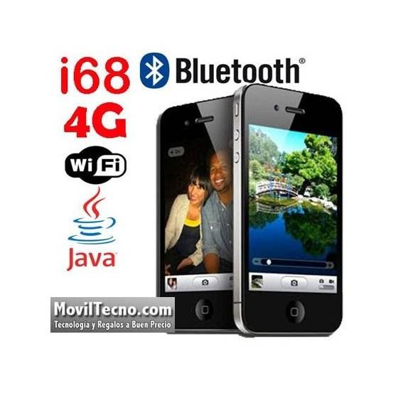 Telefono Movil Con WIFI i68 4G dual SIM Libre Pantalla Tactil Barato