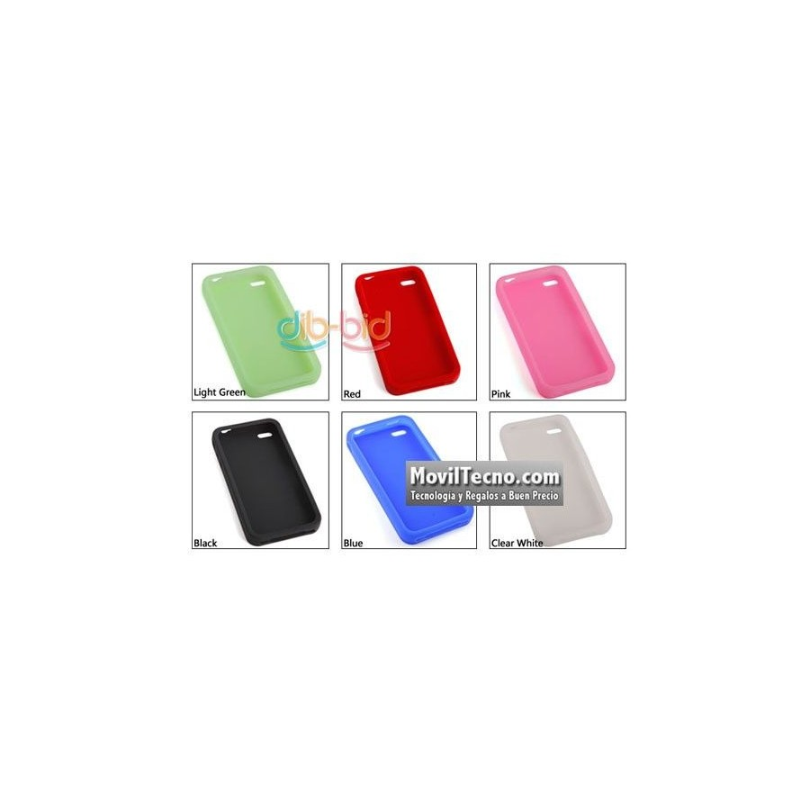 Funda de Silicona para Telefono Movil Iphone 4 Barata
