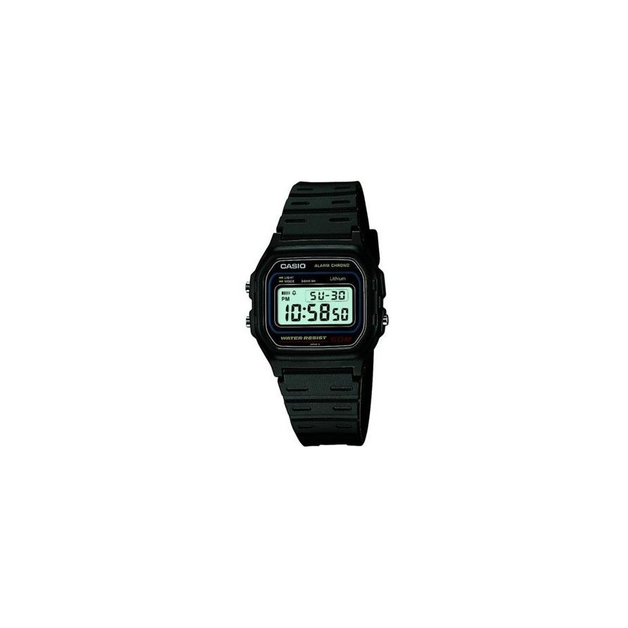 Reloj Digital Casio w-59 Retro Vintage Fashion Negro Barato