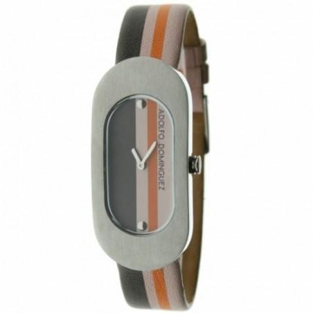 Reloj Adolfo Dominguez 01306 Mujer Diseño Fashion Piel Barato