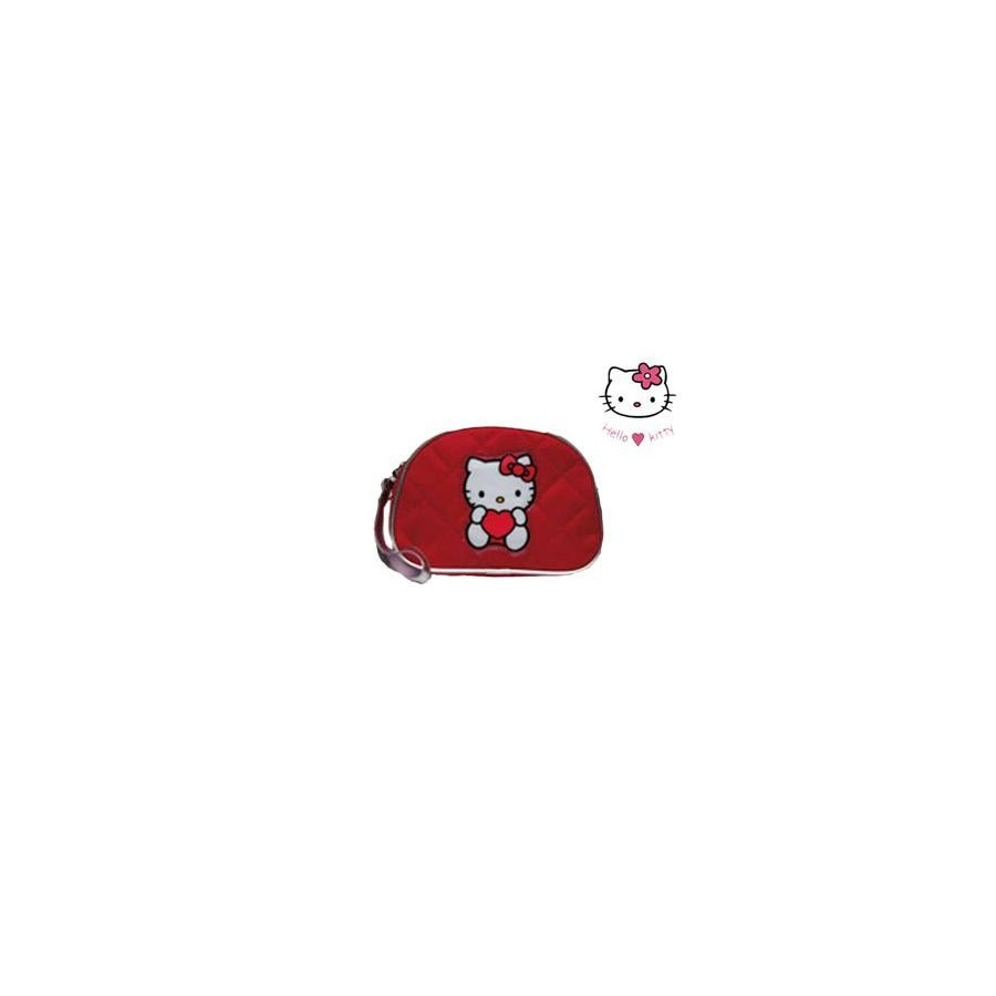 Neceser de Hello Kitty Rojo para mujeres y niñas Barato
