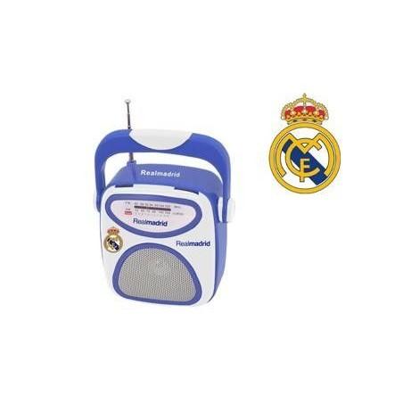 Radio REAL MADRID Cuadrada Barata