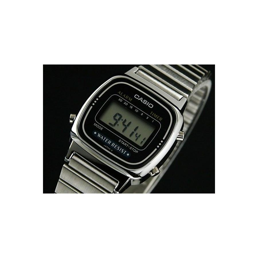 982f03938d5c Reloj Digital Casio de Mujer LA670WA Plateado Retro Barato