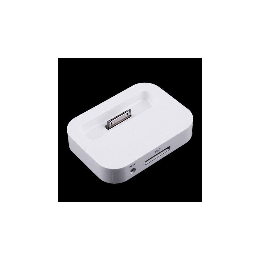d919eff5e9d Soporte pie Dock Base Cargador para IPHONE 4 Barato