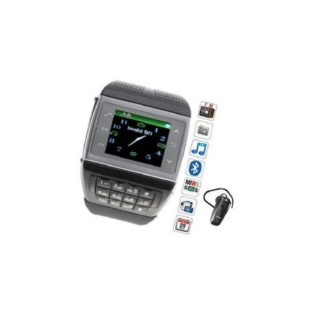 Reloj con Movil Telefono de 2 Tarjetas y Camara Bluetooth Tactil Barato