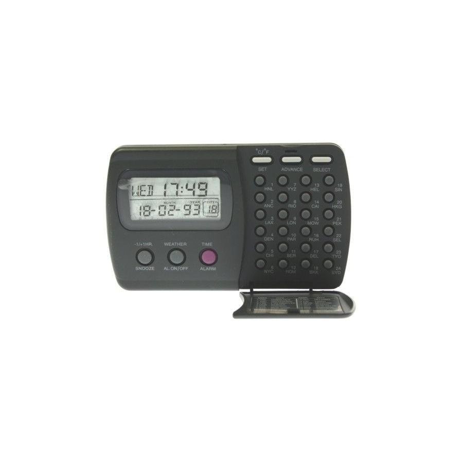 DESPERTADOR DIGITAL Philips Barato RELOJ Hora Mundial