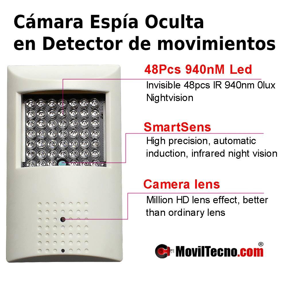 Cámaras de vigilancia espias para ver desde el movil