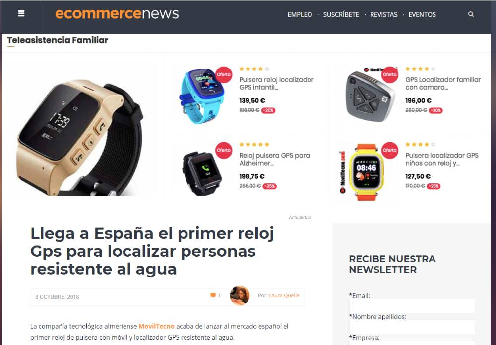 MovilTecno.com en la revista Ecommerce
