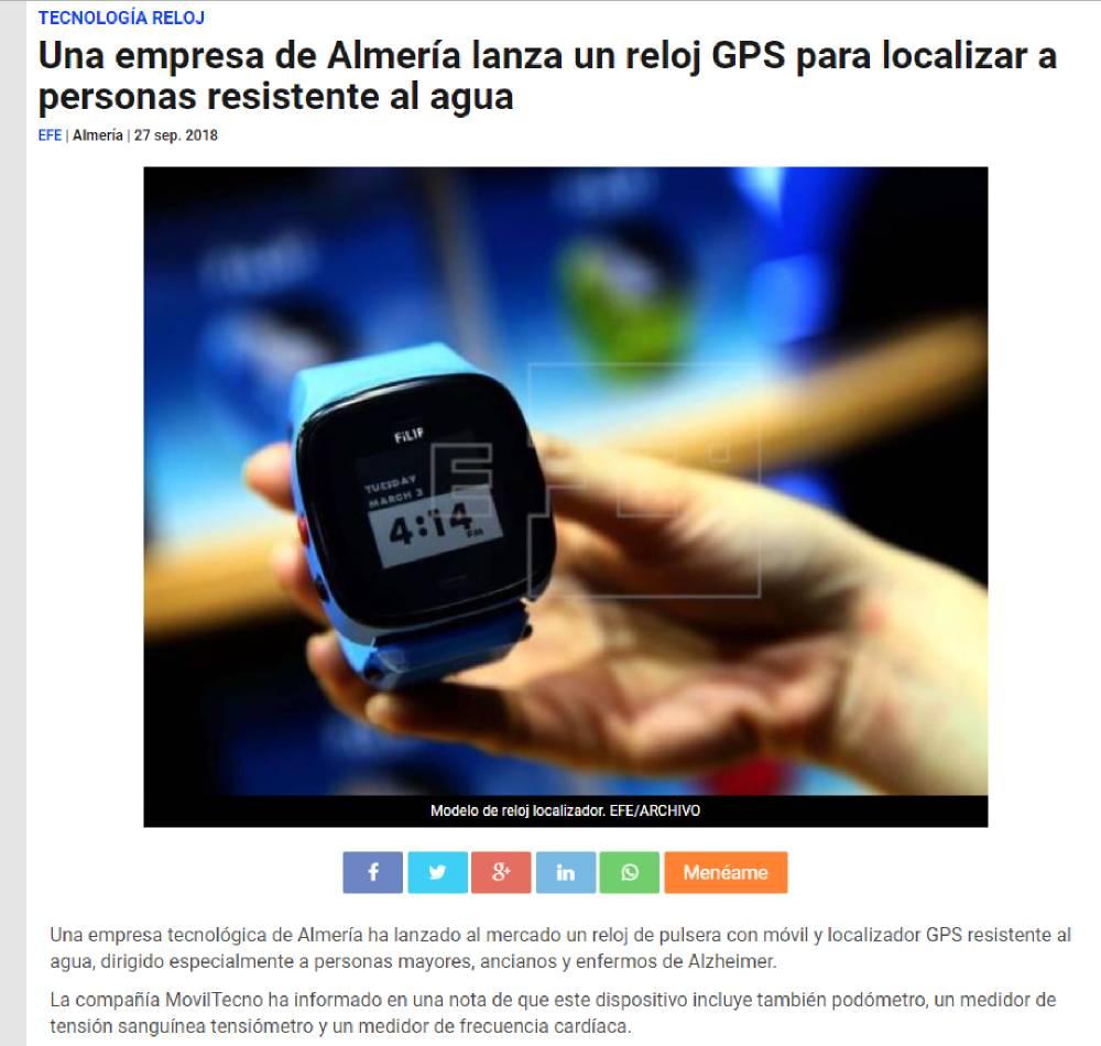 MovilTecno.com en Agencia EFE