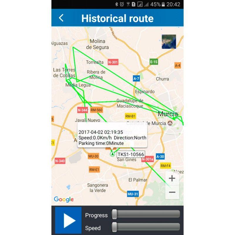 GPS para coches localizador espia