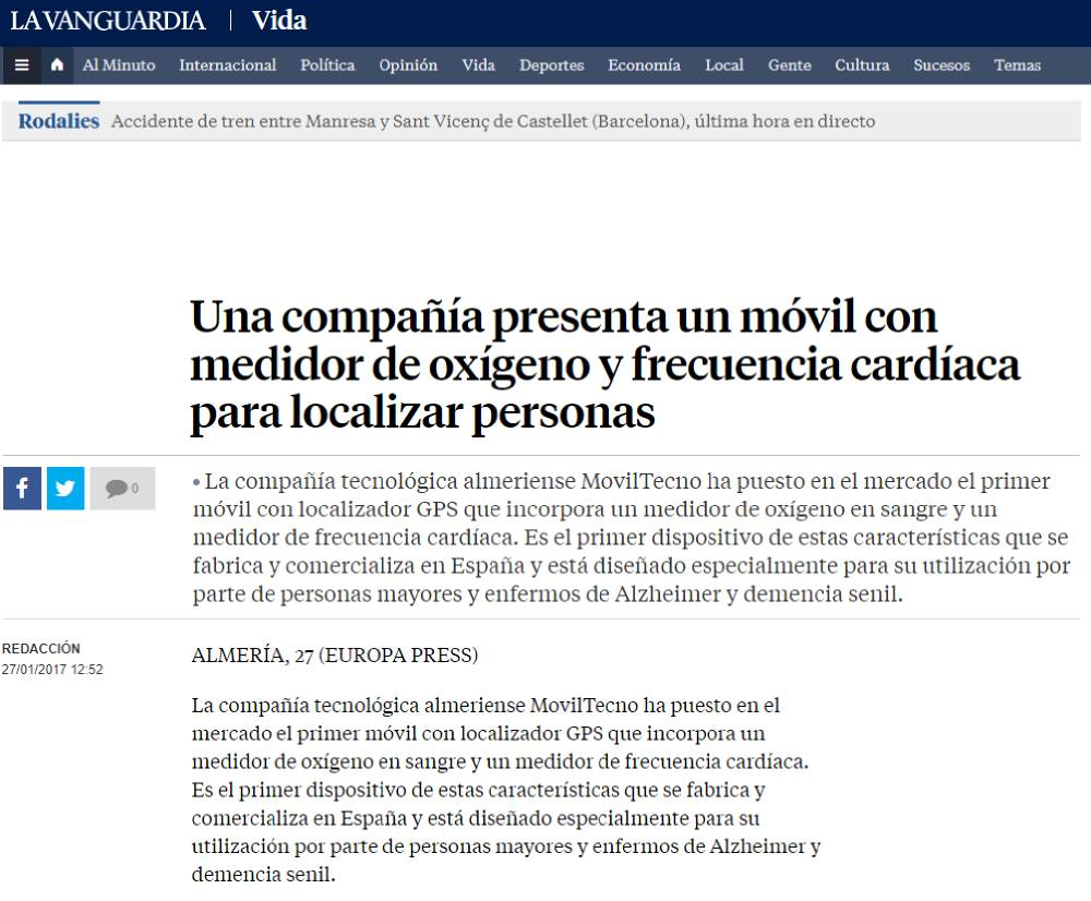 MovilTecno.com en La Vanguardia